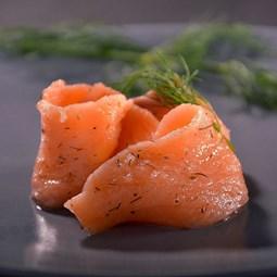 Obrázek Gravlax - marinovaný losos, nestandard 500g