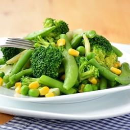 Obrázek Zelená zelenina na pánev 400g