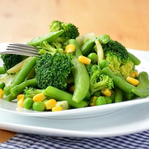 Obrázek z Zelená zelenina na pánev 400g