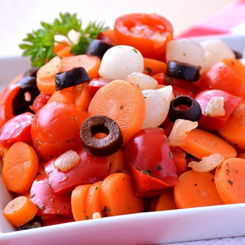 Obrázek z Červená zelenina na pánev 400g