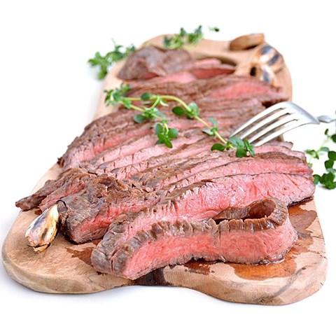 Obrázek z Angus flank steak   celý 1 ks -0,6 kg