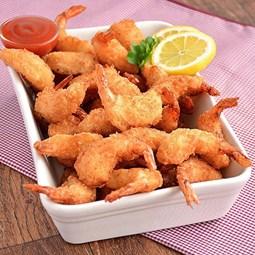 Obrázek Obalované krevety, bylinky, česnek - 500g