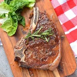 Obrázek Steak z roštěnce Limousine s kostí 700g