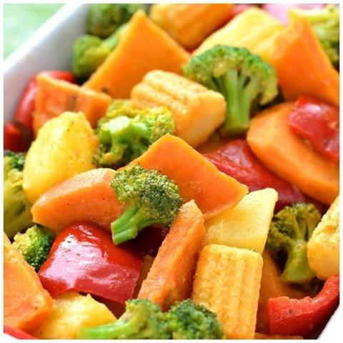 Obrázek z Zeleninová směs s batáty a ananasem 1500g