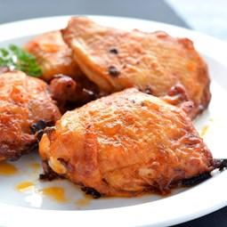 Obrázek Barbecue kuřecí stehna pálivá  cca 550g