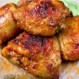 Obrázek Grilovaná horní kuřecí stehna cca 550g