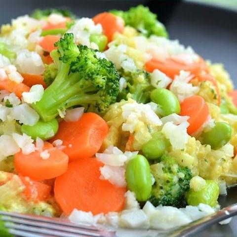 Obrázek z Zeleninová pánev s brokolicí a kari 400 g