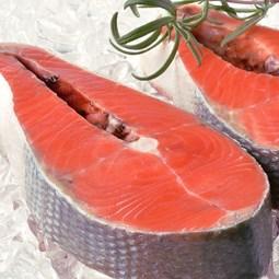 Obrázek  Divoký losos keta steak 2ks - 400g