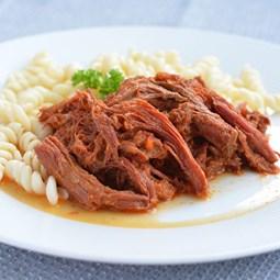 Obrázek Trhané vepřové maso se salsou z paprik -400g