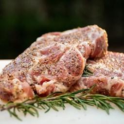 Obrázek Steak z krkovice  marinovaný - sůl, pepř, olej  200g